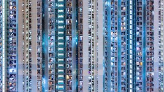Beautiful video project brings to life the abstract patterns in Hong Kong's dense concrete jungle