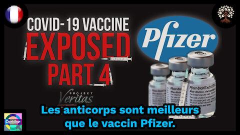 Project Veritas: les anticorps sont meilleurs que le vaccin Pfizer!: