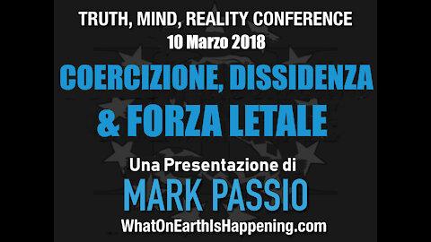 Coercizione, Dissidenza & Forza Letale (Mark Passio, ITA)
