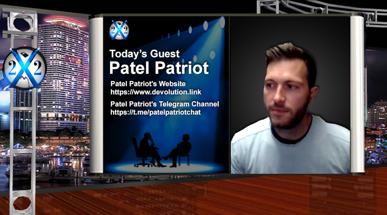 X22Report: The Stage Is Set!! In The End The Deep State Will Cease To Exist!! - Patel Patriot - Must Video