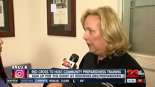 'Get Red Cross Ready' event this weekend