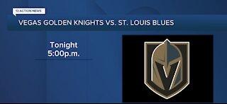 Vegas Golden Knights vs. St. Louis Blues tonight