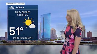 Temperatures to warm up Saturday