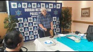 SOUTH AFRICA - Durban - Metro police farewell (Video) (5w4)