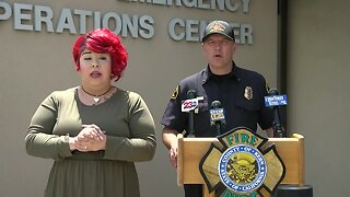 Kern County Emergency Operations Center Press Conference