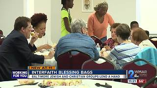 Baltimore Jewish and Christian groups join forces to help homeless