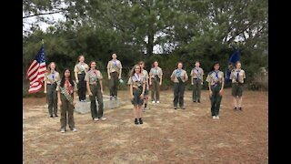 Eighteen young women become the first female Eagle Scouts in San Diego