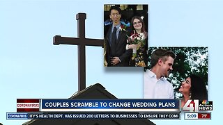 Coronavirus alters wedding plans for couples in the metro