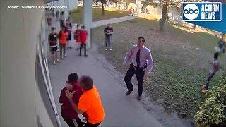 Video shows altercation between Sarasota teacher and student