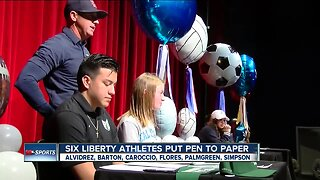 Local athletes sign on National Signing Day 2020