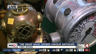 The Swap Shop offers unique antiques in Fort Myers - 7am live report