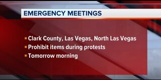 UPDATE: Las Vegas officials call emergency meeting to address protests