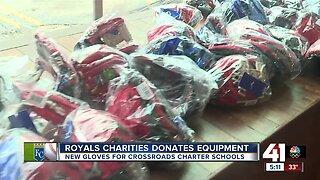 Royals Charities Donates Equipment