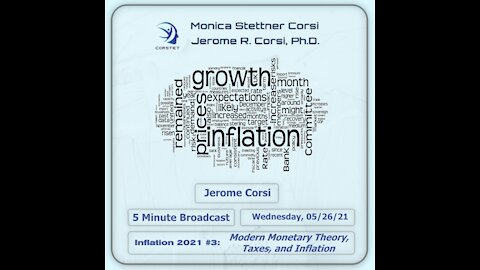 Corstet 5 Minute Overview: Inflation 2021 3 - Modern Monetary Theory, Taxes, And Inflation
