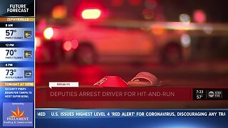 Driver in hit-and-run that left teen in critical condition arrested, deputies say
