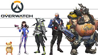 Overwatch | Characters Height Comparison