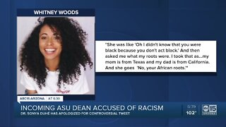 Incoming ASU dean accused of racism by former student