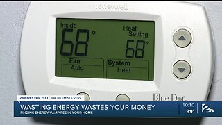 Energy Vampires: Wasting Energy Wastes Your Money
