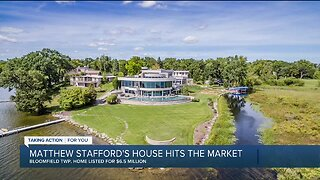 Matthew Stafford's $6.5 million Bloomfield Township home up for sale