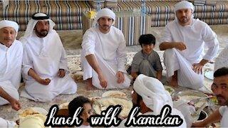 Hamdan lunch with family