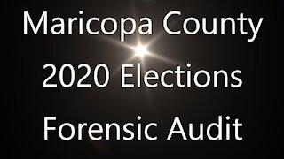 Arizona Audit for Maricopa County.