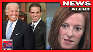 Biden's Press Sec STUNNED after Report Asks about Crooked Biden Family