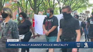 Ohio families rally against police violence
