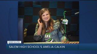 WXYZ Senior Salutes: Salem High School's Amelia Calkin