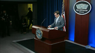 03/31/2021 Pentagon Press Secretary Holds Briefing