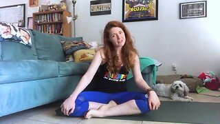 """Yoga with 'Friends"""""""