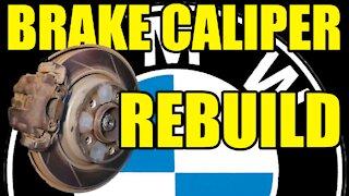 BMW Brake Caliper Rebuild & Bleed 1998-2006