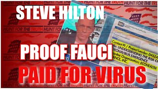 DR FAUCI PAID FOR WUHAN VIRUS STEVE HILTON FOX NEWS REVOLUTION