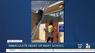 Good Morning Maryland from the Immaculate Heart of Mary School