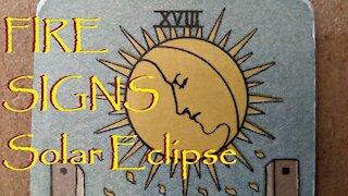 Aries Leo Sagittarius Ophiuchus June 2021 Solar Eclipse Tarot Reading