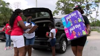 Diaper drop off event held in Palm Beach County