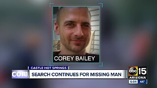 Search continues for missing man