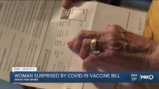 While you might not be paying for the COVID-19 shot, your insurance is