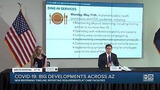 COVID-19: Big developments across Arizona