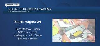 Vegas Stronger Academy registration begins today