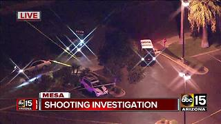 Police investigating officer-involved shooting in Mesa