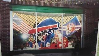 Local florist brings back 30-year-old Bills display