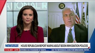 HOUSE REPUBLICAN REPORT WARNS ABOUT BIDEN IMMIGRATION POLICIES