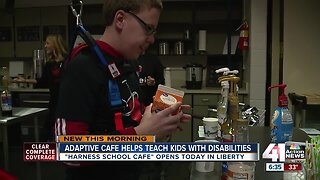 Adaptive cafe helps teach kids with disabilities