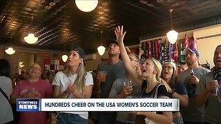 WNY cheers on the USA Women's Soccer Team