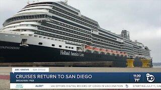 Cruises set to return to San Diego