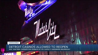 Detroit casinos allowed to reopen in August