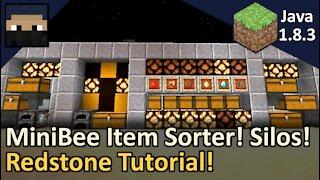 MiniBee Item Sorter and Silos! Minecraft Java 1.8.3