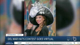 Del Mar Race Hats Contest goes virtual amid COVID-19
