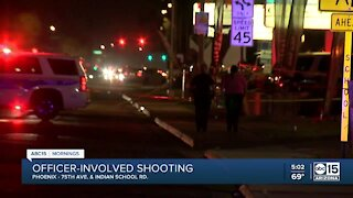 Phx PD shoot and kill alleged armed robber