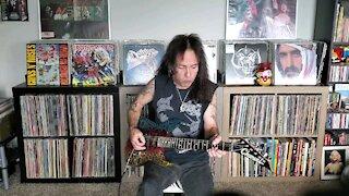 Rob Evans Shredding Eruption by Eddie Van Halen!!!